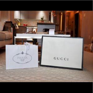 Handbags - Prada and Gucci bag